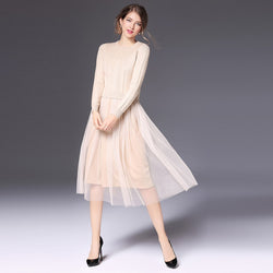 MELNBOURNE SWEATER DRESS LONG SLEEVE