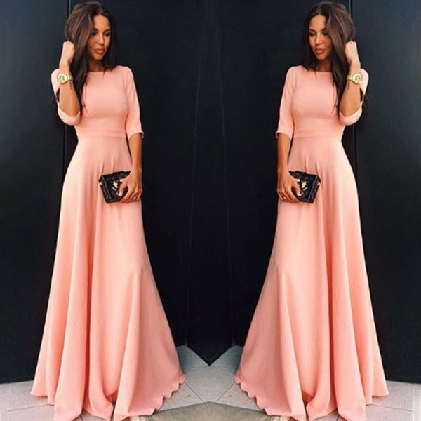 London Chiffon Elegant Dress
