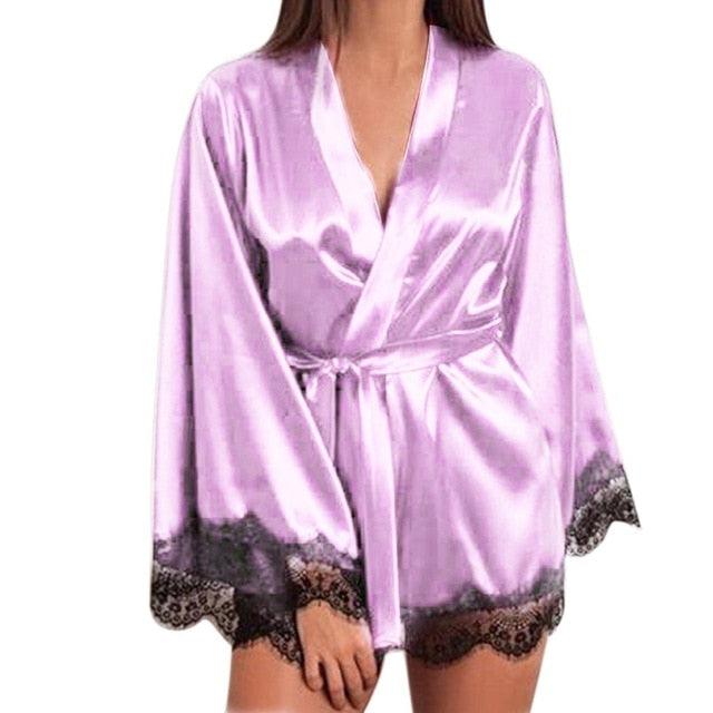 DENVER SATIN NIGHTGOWN
