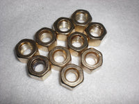 Brass Nuts for High Pressure Clamps | Global Material Processing