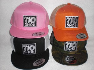 710 SNOB Snap-Back Hats | Global Material Processing