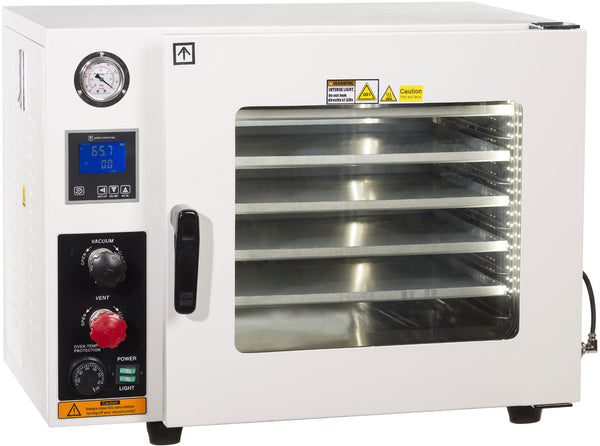 UL/CSA Certified 1.9 CF Vacuum Oven 5 Sided Heat & SST Tubing | Global Material Processing