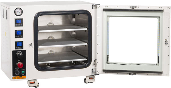 UL/CSA Certified 3.2 CF 480°F Vacuum Oven with All SST Tubing | Global Material Processing