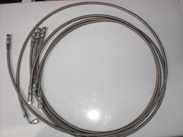 Braided Stainless Steel PTFE Hoses | Global Material Processing