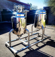 ASME Jacketed Reactor Skid (Alcohol Extraction): Custom Build | Global Material Processing