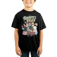 Youth Boys Dipper and Mabel Pines Gravity Falls Shirt