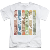 DC Justice League Columns ♥ Medium Ones T-Shirt