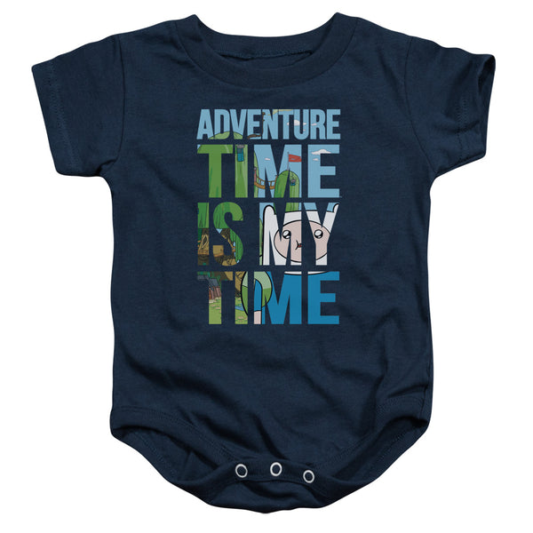 Adventure Time My Time ♥ Infant Snapsuit