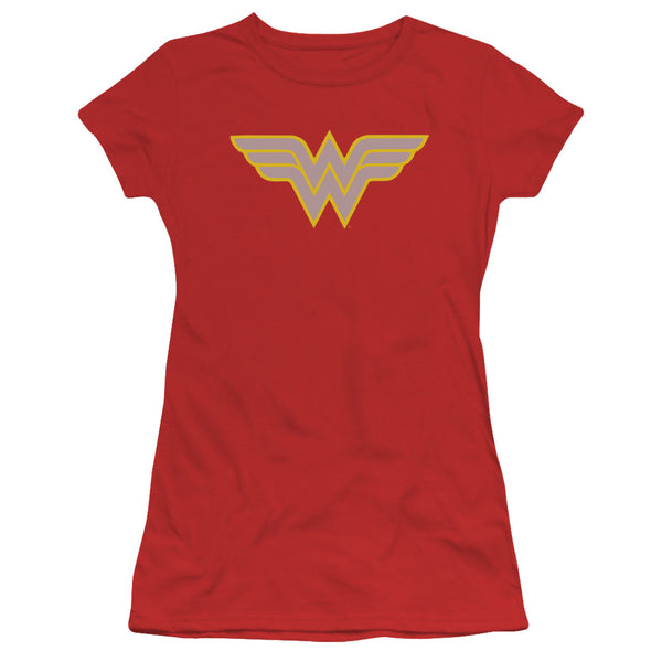 DC Wonder Woman Logo ♥ Big Ones Fitted T-Shirt