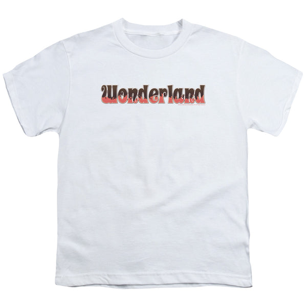 Zenoscope - Wonderland Logo Short Sleeve Youth 18/1