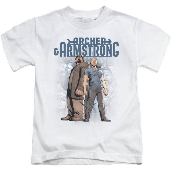 Archer & Armstrong Two Against All ♥ Medium Ones T-Shirt