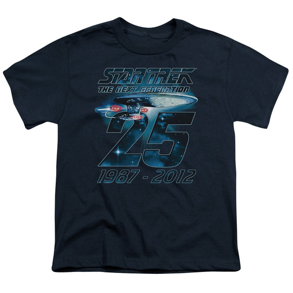 Star Trek - Enterprise 25 Short Sleeve Youth 18/1