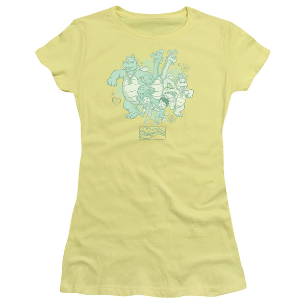 Dragon Tales Group Celebration ♥ Big Ones Fitted T-Shirt