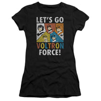 Voltron - Force Short Sleeve Junior Sheer