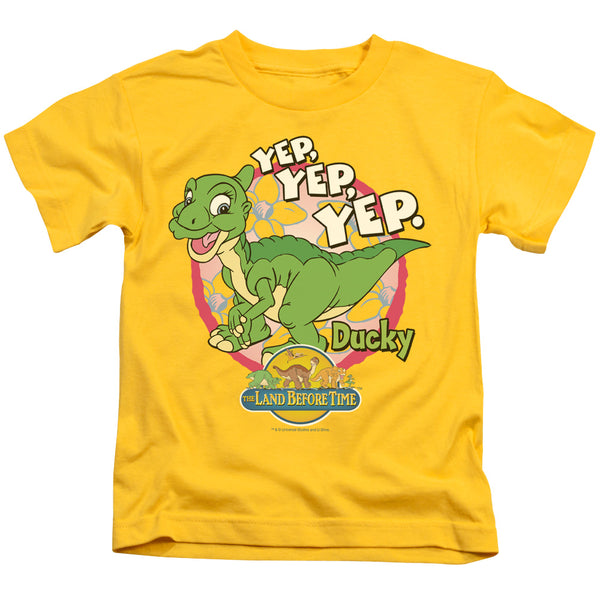 Land Before Time - Ducky Short Sleeve Juvenile 18/1
