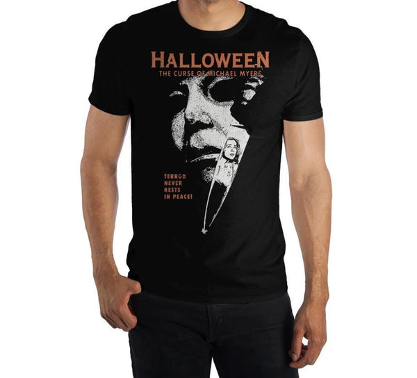"Halloween 6: The Curse of Michael Myers ""Terror Never Rests In Peace"" ♥ Big Ones T-Shirt"