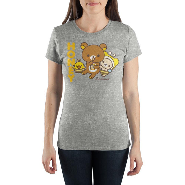 Honey Rilakkuma and Friends ♥ Big Ones T-Shirt