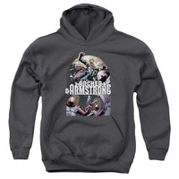 Archer & Armstrong Dropping In ♥ Big Ones Hoodie
