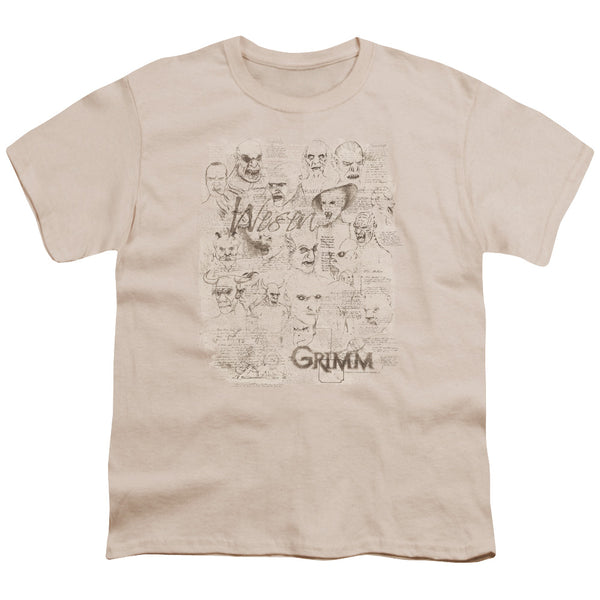 Grimm Wesen Sketches ♥ Big Ones T-Shirt