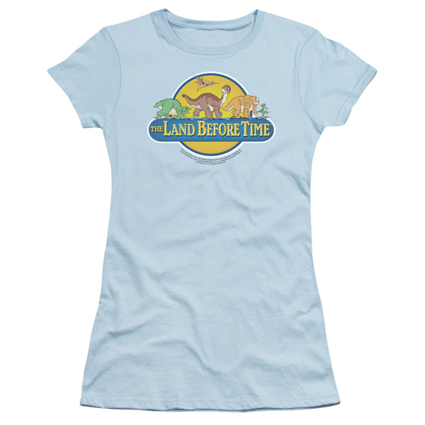Land Before Time - Dino Breakout Short Sleeve Junior Sheer