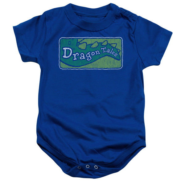 Dragon Tales Logo Distressed ♥ Infant Snapsuit