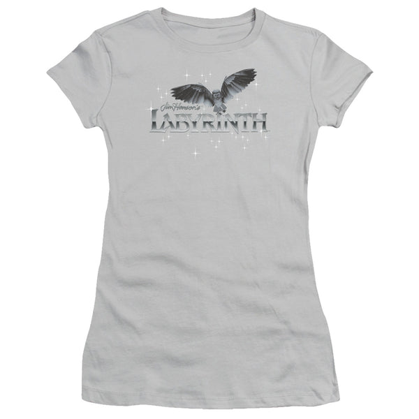 Labyrinth - Owl Logo Short Sleeve Junior Sheer