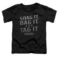 Warehouse 13 - Snag It Short Sleeve Toddler Tee