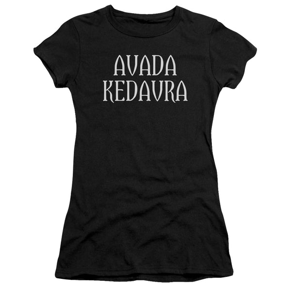 Harry Potter Avada Kedavra ♥ Big Ones Fitted T-Shirt