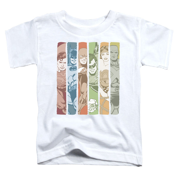 DC Justice League Columns ♥ Little Ones T-Shirt