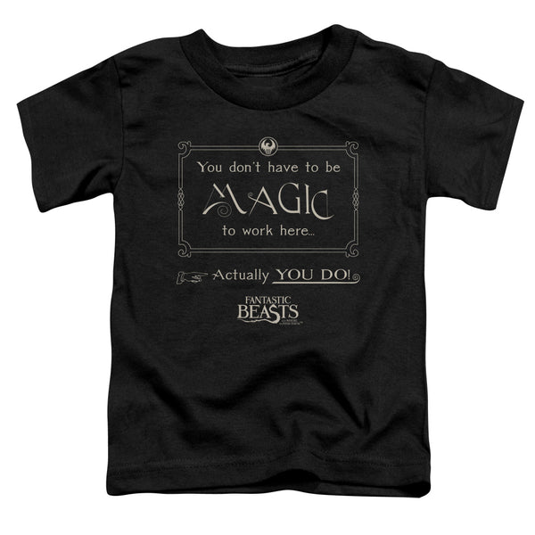 Fantastic Beasts Magic To Work Here ♥ Little Ones T-Shirt