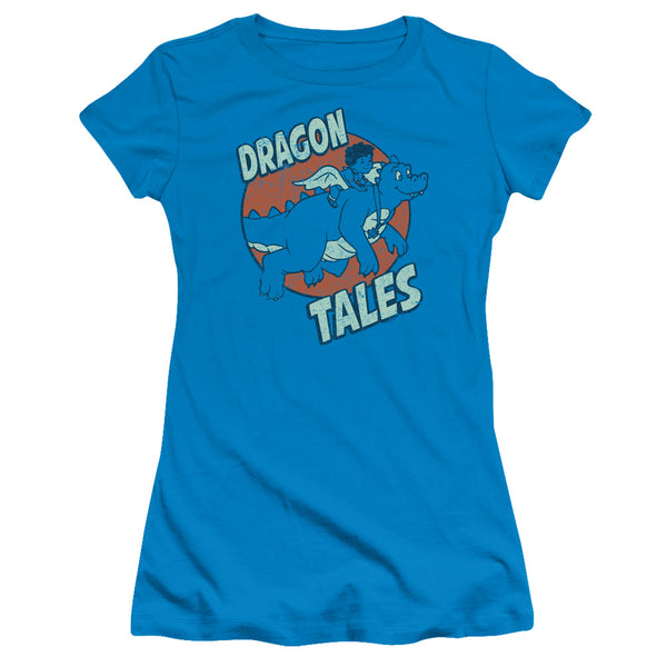 Dragon Tales Flying High ♥ Big Ones Fitted T-Shirt