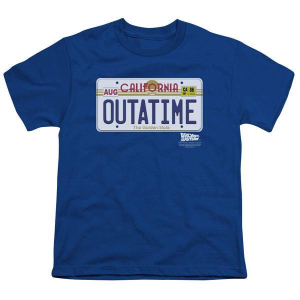 Back To The Future Outatime Plate ♥ Big Ones T-Shirt