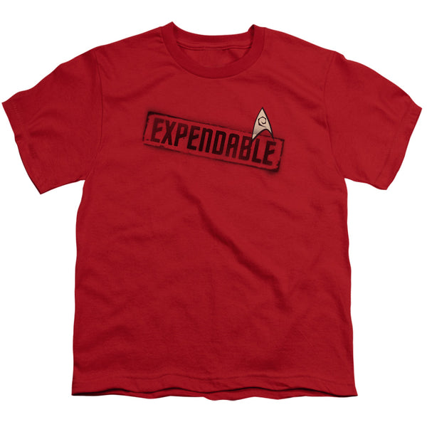 Star Trek - Expendable Short Sleeve Youth 18/1