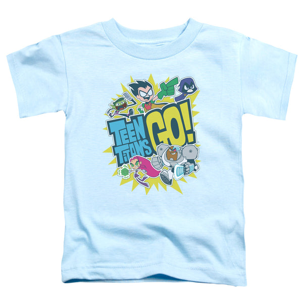 Teen Titans Go - Go Short Sleeve Toddler Tee