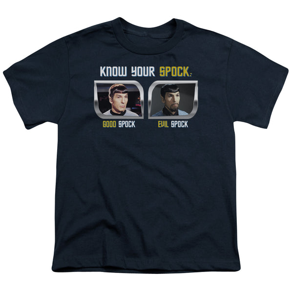 St Original - Know Your Spock Short Sleeve Youth 18/1