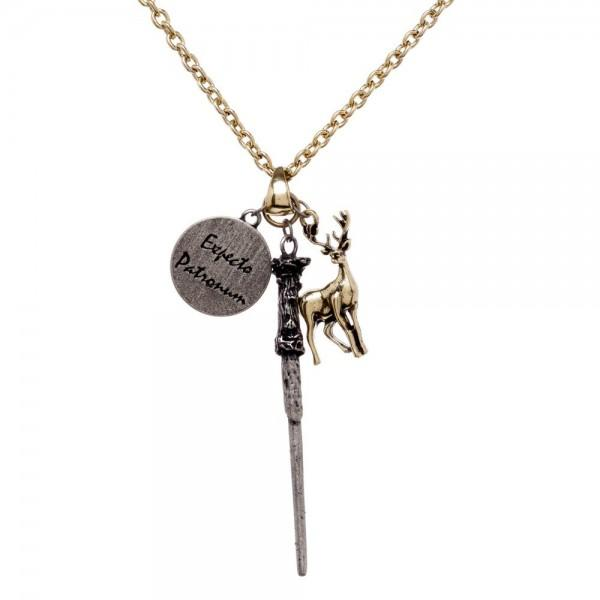 Harry Potter Expecto Patronum Charm Necklace - Little Geeklings
