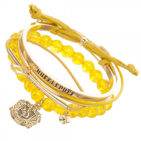 Harry Potter Hufflepuff Arm Party Bracelet Set - Little Geeklings