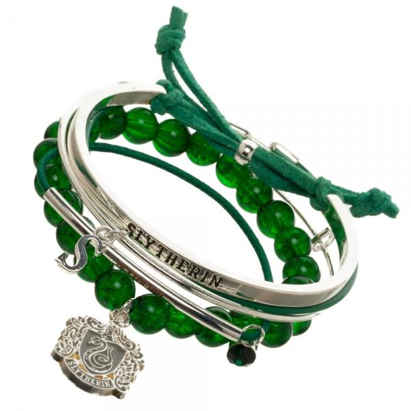 Harry Potter Slytherin Arm Party Bracelet Set - Little Geeklings