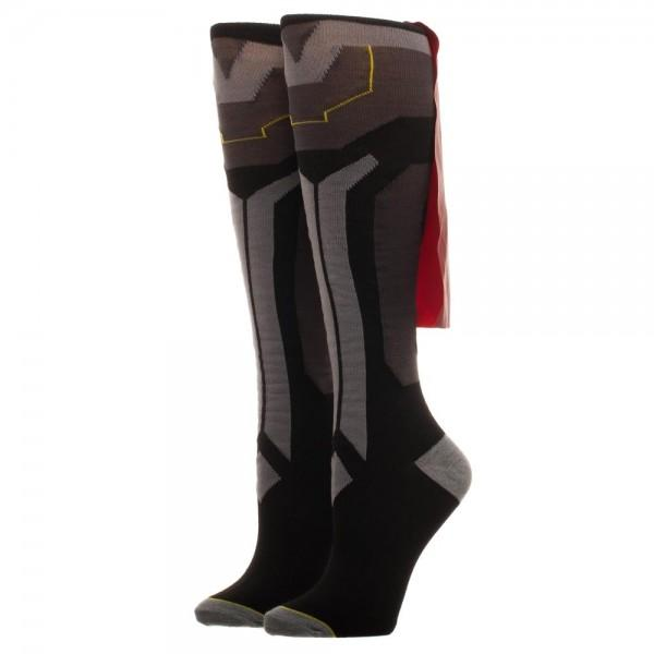 Thor Knee High Cape Socks - Little Geeklings