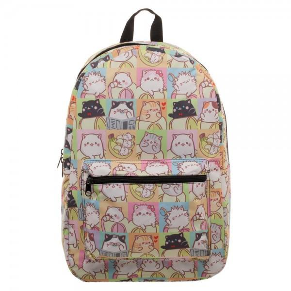Bananya Tile Cat Sublimated Backpack - Little Geeklings