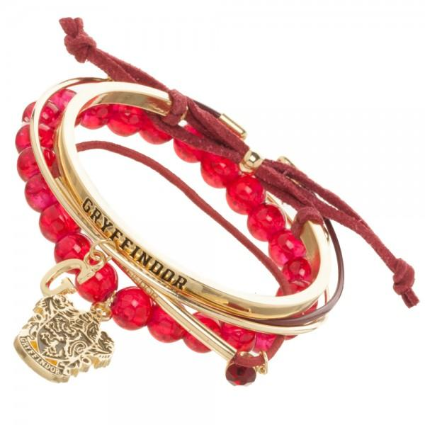Harry Potter Gryffindor Arm Party Bracelet Set - Little Geeklings