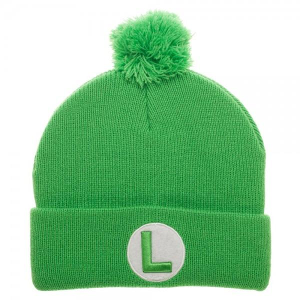 Super Luigi Pom Beanie - Little Geeklings