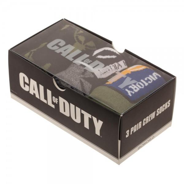 Call of Duty 3 Pair Sock Gift Set - Little Geeklings