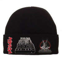 My Hero Academia Multi-Patch Screen Printed Acrylic Wool Beanie - Little Geeklings