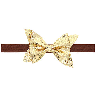 Sparkling Gold Headband - Little Geeklings