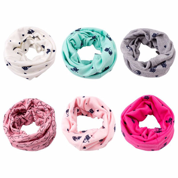 Kids Cute Infinity Scarf - Little Geeklings