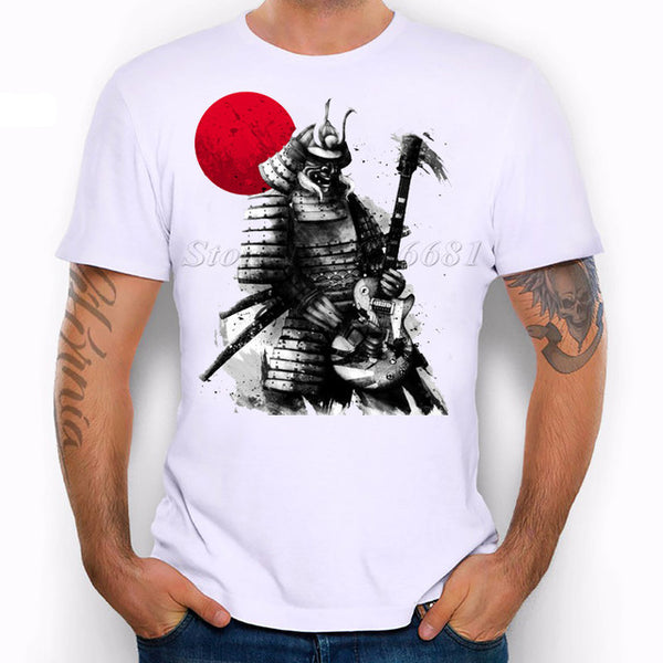 Samurai Rock Star T-Shirt (Young Mens Cut)