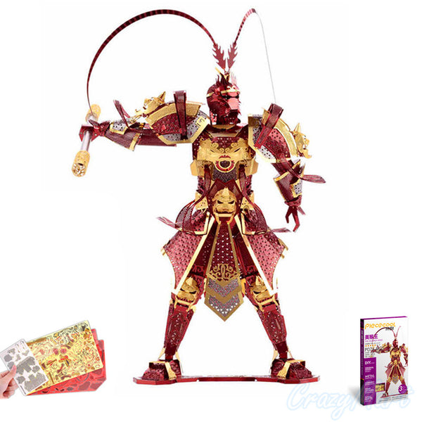 Monkey King 3D Metal Puzzle - Little Geeklings