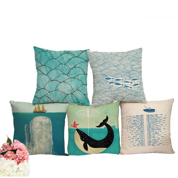 Under The Sea Pillow Cases