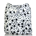 A Nappy for All Those Black & White Outfits Adjustable Cloth Diaper - Little Geeklings